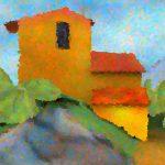 cezanne_pointillist