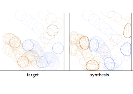 Example-Based Expressive Animation of 2D Rigid Bodies